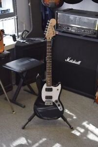 *Fender Squier Mustang Guitar and Gig Bag.**