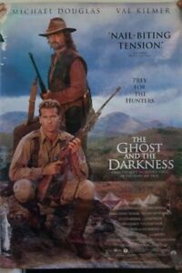 THE GHOST AND THE DARKNESS 2 DIFFERENT STUDIO POSTERS