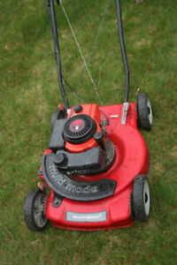 gas lawmower -- need repair, for parts