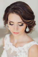 professional wedding makeup artist and hair stylist services!