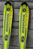 Rossignol skis parabolic 160 cm with Tyrolia SL 100 bindings  Ro
