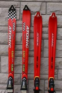 MEN'S RACING SKIS ATOMIC BETA DOWNHILL SKIS 188 CM, 170 CM FOR S