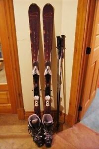 Ski gear for woman
