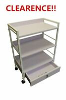 Brand New Spa&Salon Rolling Trolley Storage Shelves Clearence!!