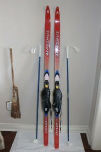Madhus XC Skis Cross Country Ski set Junior 140 cm w/ Sns Profil