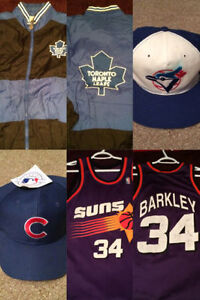 Vintage Clothing, Snapbacks, Jerseys, Hats And Other Stuff