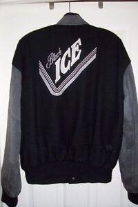 BLACK ICE DESIGNER JACKET (LARGE)