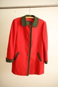 Manteau de laine Salzburger