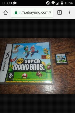 New Super Mario bro's DS
