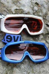 Goggles 2 UVEX ski / snowboard goggles adults size double layer