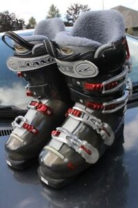 Ski boots Lange Exclusive 100 size 24.0 or US 6 ½  women's Advan