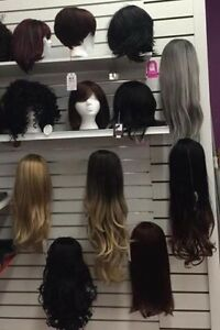 WIGS STORE - NOW IN ST JOHNS - HUGE SELECTION OVER 100 WIGS IN