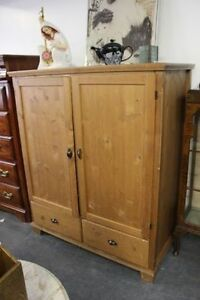★ PINE ARMOIRE ★ CABINET - CHECK IT OUT!★ ONLY $55