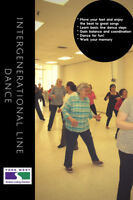 Free Lessons Intergenerational Line Dancing  55+