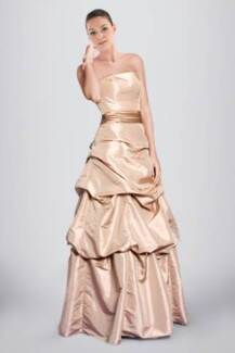 Classic Strapless A-line Bridesmaid Dress Featuring Pick-ups Sydney City Inner Sydney Preview