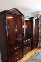 Large Armoire / Dresser - Solid Wood!