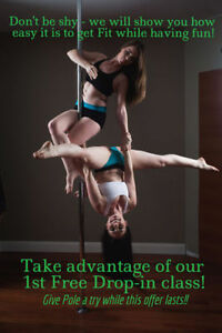 Get a TOTAL BODY Workout with Pole Fitness Kingston! Kingston Kingston Area image 1