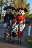 $80 MICKEY MOUSE AND MINNIE MASCOT COSTUME RENTALS