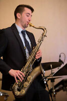 Professional Saxophone Entertainment: Weddings + Special Events
