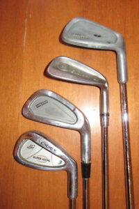 MIXED SET OF IRONS: #3, #4, #7 and #9, Pick up Stratford, $3 Eac