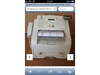 SAMSUNG SF-560 ALL IN 1 FAX / COPY / PRINT / SCAN MACHINE AS NEW