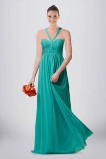 2015 Fresh Looking Halter Neck Crossed Straps Back A-line Chiffon Sydney City Inner Sydney Preview