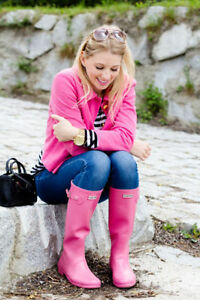 NEW !  GENUINE HUNTER RAINBOOTS- FALL STREET STYLE ! Edmonton Edmonton Area image 4