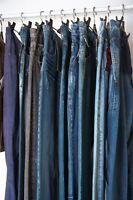 CLOTHING ALTERATIONS: JEANS/PANTS HEM $8.00/PAIR By KIM 403-969-