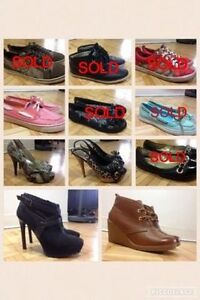 GUESS/SPERRY NEW CONDITION size 7-8 *NEW PRICE*