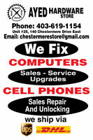 Computer and Cell Phone Repair in Chestermere
