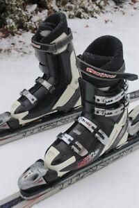 Men's Ski set HEAD skis Cyber 175 cm and boots 29.5 US 11 Cross