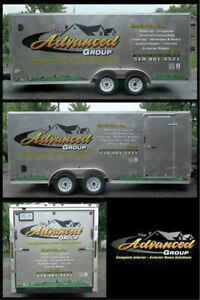 Trailer Wraps, Lettering, Vinyl Graphics, Signs, Decals Windsor Region Ontario image 2