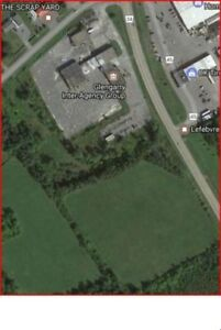 12 acres of commercial service lot for sale