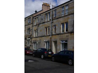large 1 bed flat for sale in Barrhead in clean quite close with security entry