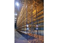 job lot dexion type pallet racking AS NEW( storage , industrial shelving )