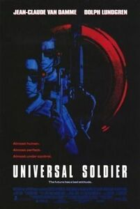 Universal Soldier Movie Poster