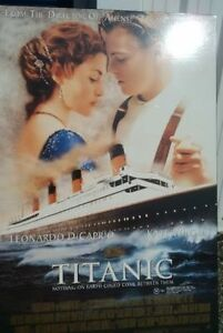Movie poster for Titanic (on hardboard), $25 Kitchener / Waterloo Kitchener Area image 1