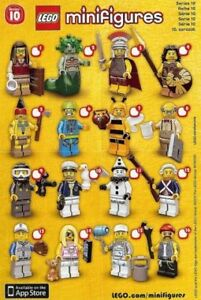 Lego series 10 minifigures for trade/purchase 71001