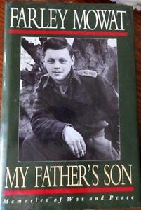 BOOK FARLEY MOWAT MY FATHER'S SON 1992 1ST EDITION