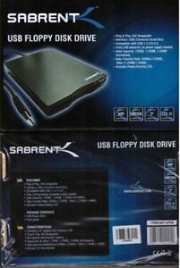 1.44MB External USB 2X Floppy Disk Drive New In Box Win & Mac
