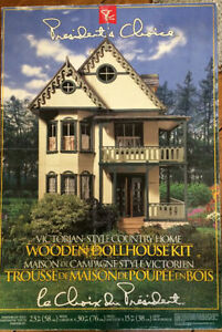 Build Your Own Dollhouse VICTORIAN STYLE COUNTY HOME $125 London Ontario image 1