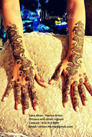 Ottawa Henna Artist available for your celebrations