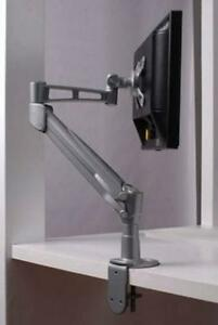 Gas Spring single arm monitor mount, Position at any place