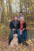 $50 Christmas Family Photos with your Pet