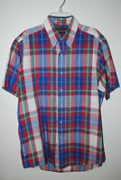 Chaps Ralph Lauren  -  Plaid Short Sleeve Shirt