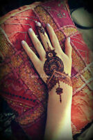 Mehndi or henna available for your celebrations