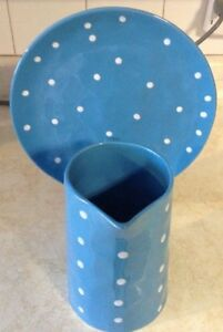 """JUG AND PLATTER IN BLUE. SPRINKLE COLLESTION""""MAXWELL & WILLIAMS Gatineau Ottawa / Gatineau Area image 5"""