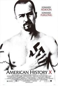 Original Rare Double-Sided American History X Movie Poster