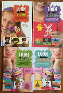 LOOM MAGIC - Rainbow Loom crafts 4 for $15