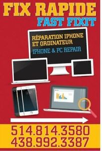 iPhone iPad iMac PC reparation service